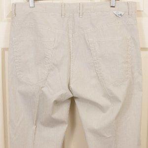 Love Moschino 38 (39x31) Linen Blend Summer Pants